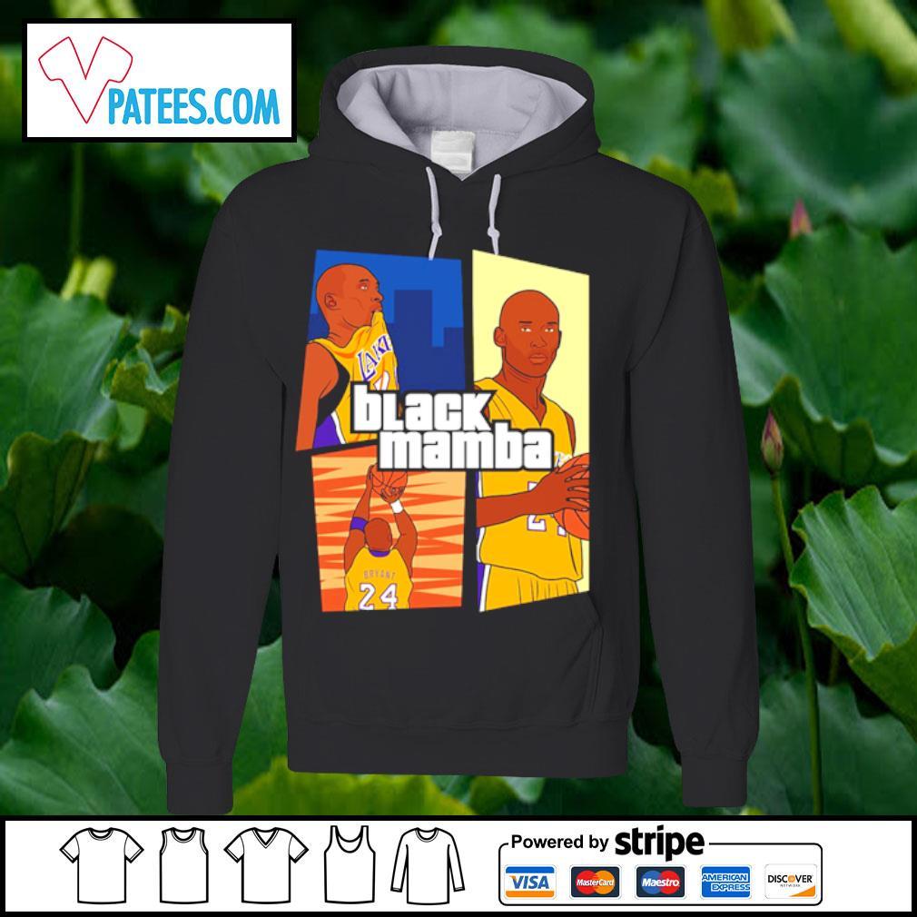 Kobe Bryant 24 Laker black mamba s hoodie