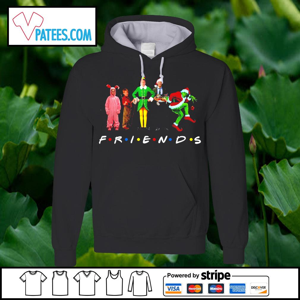 Merry Christmas Characters Elf Grinch Kevin Friends s hoodie