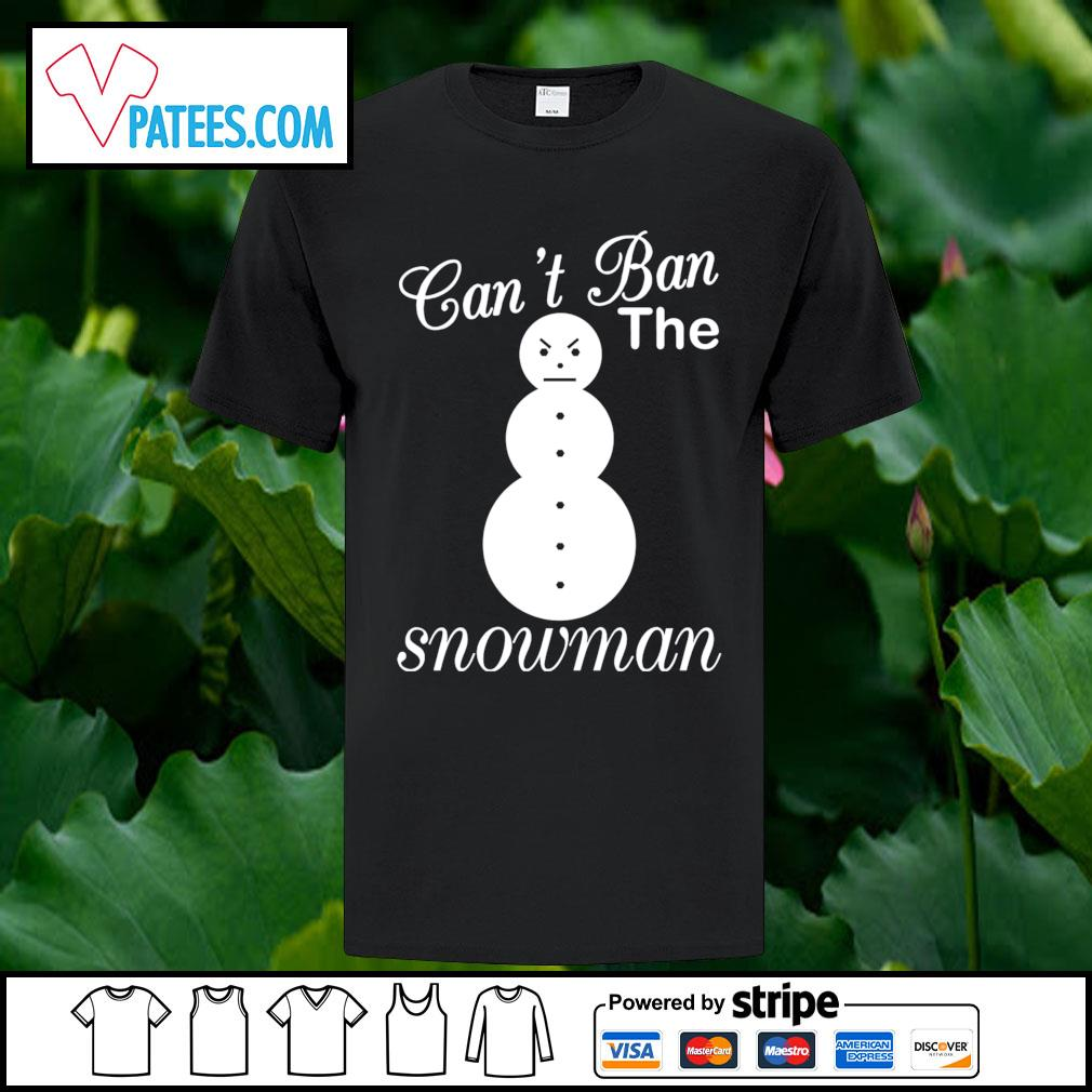 Young Jeezy can't ban the snowman shirt