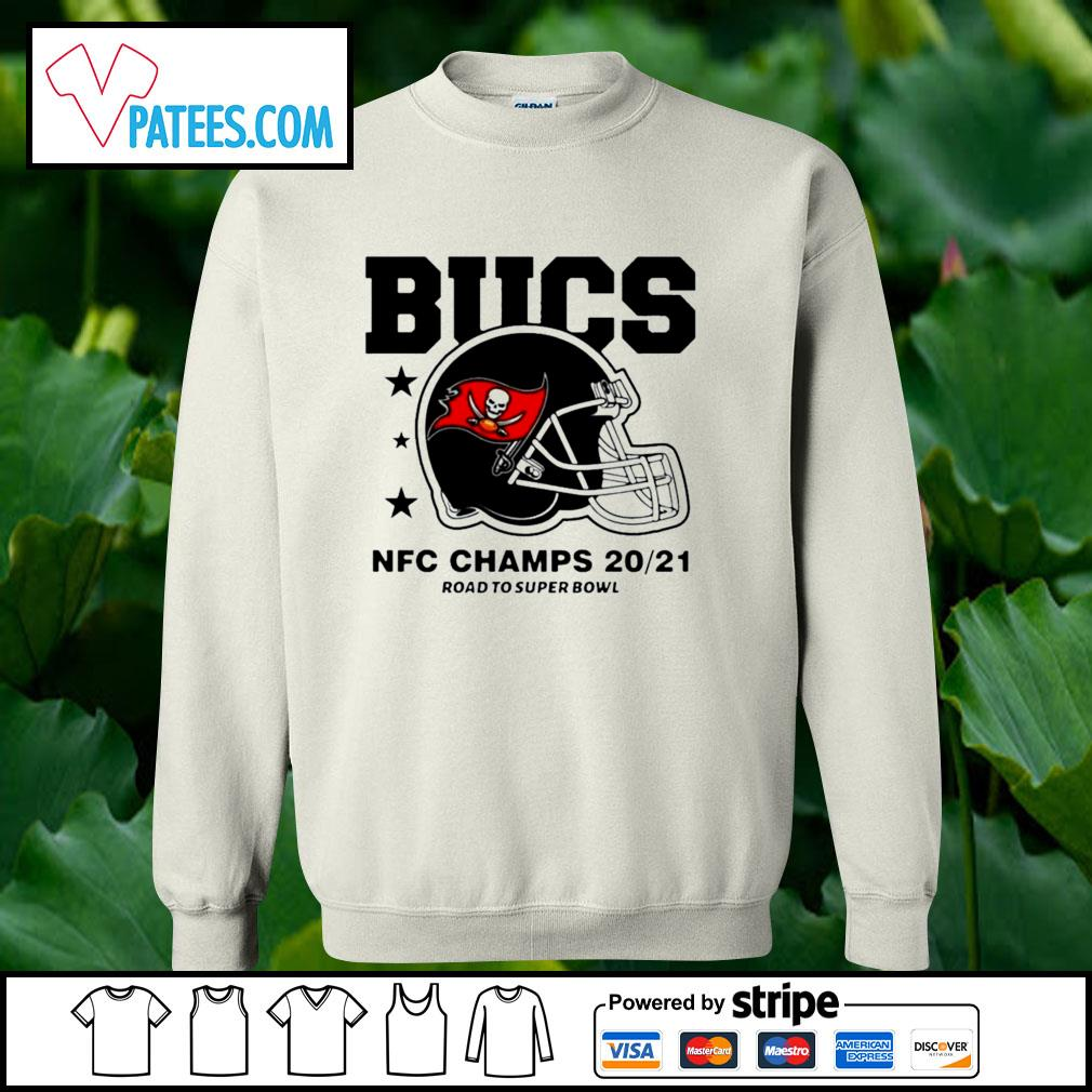 Tampa Bay Buccaneers NFC Champs road to super bowl 2021 t-s sweater